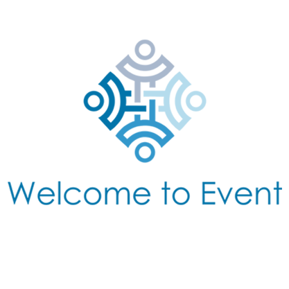 Welcome to event logo